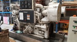 CAT 3508 1050HP 1600RPM MARINE ENGINE 2005 WITH GEAR