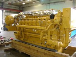CAT 3516B 1750HP 1200RPM 2008 X 2 SURPLUS NEW