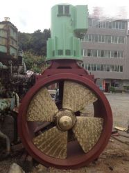 KAMEWA ULSTEIN ROLLS ROYCE TUNNEL THRUSTER POWER 750KW 440V 60HZ 1650M/M DIA. 12 TONS PROPULSION