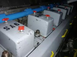 WARTSILA 18V32  8280KW 750 RPM 2005 ENGINE