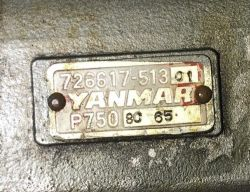 YANMAR 6KH FUEL INJECTION  PUMP 726617-51301